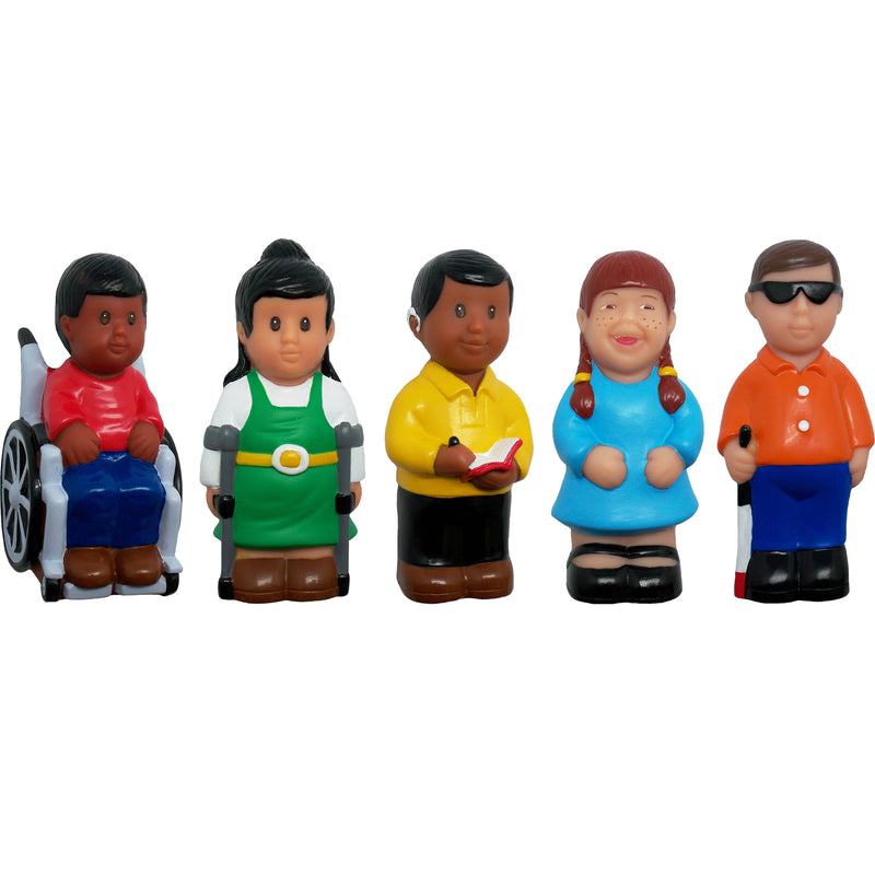 Friend With Disability Play Figures