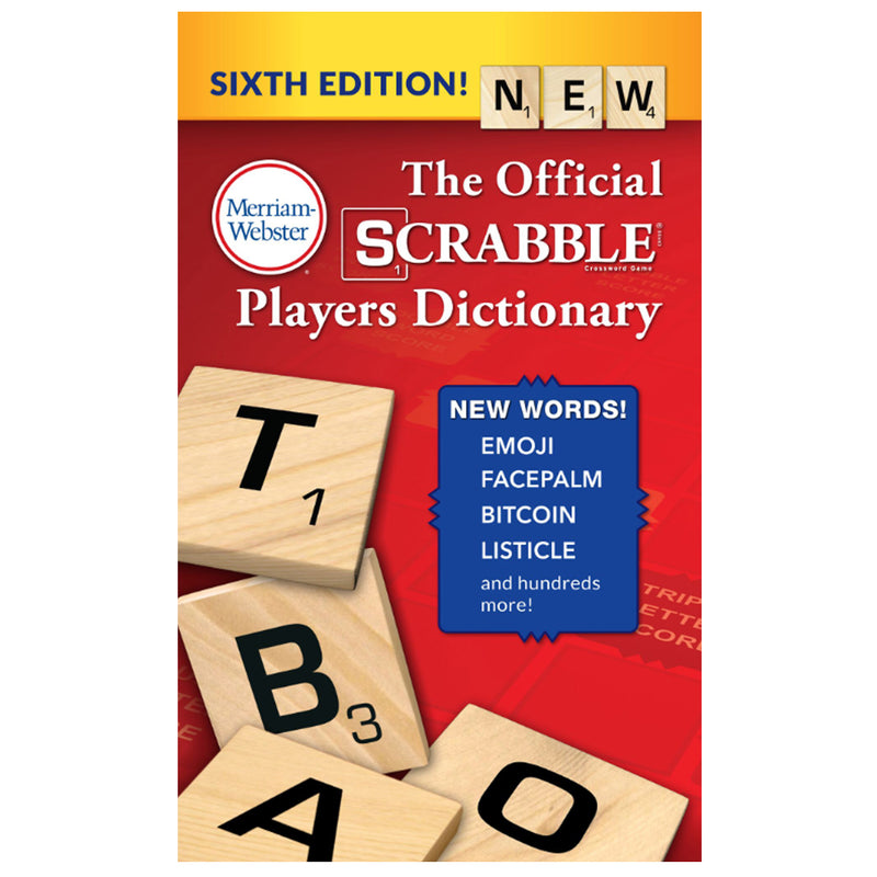 (3 Ea) Scrabble Players Dictionary 6th Ed