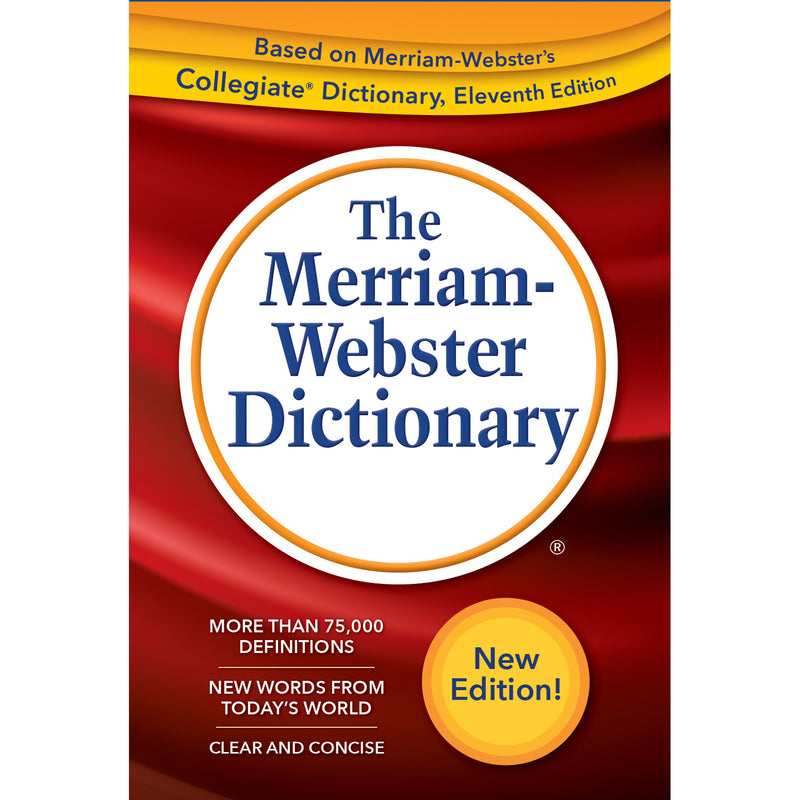 Webster Dictionary Trade Paperback 2019 Copyright