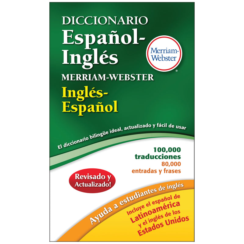 Merriam Websters Diccionario Espanol Ingles