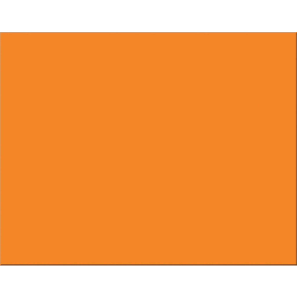 4 Ply Rr Poster Board 25 Sht Orange
