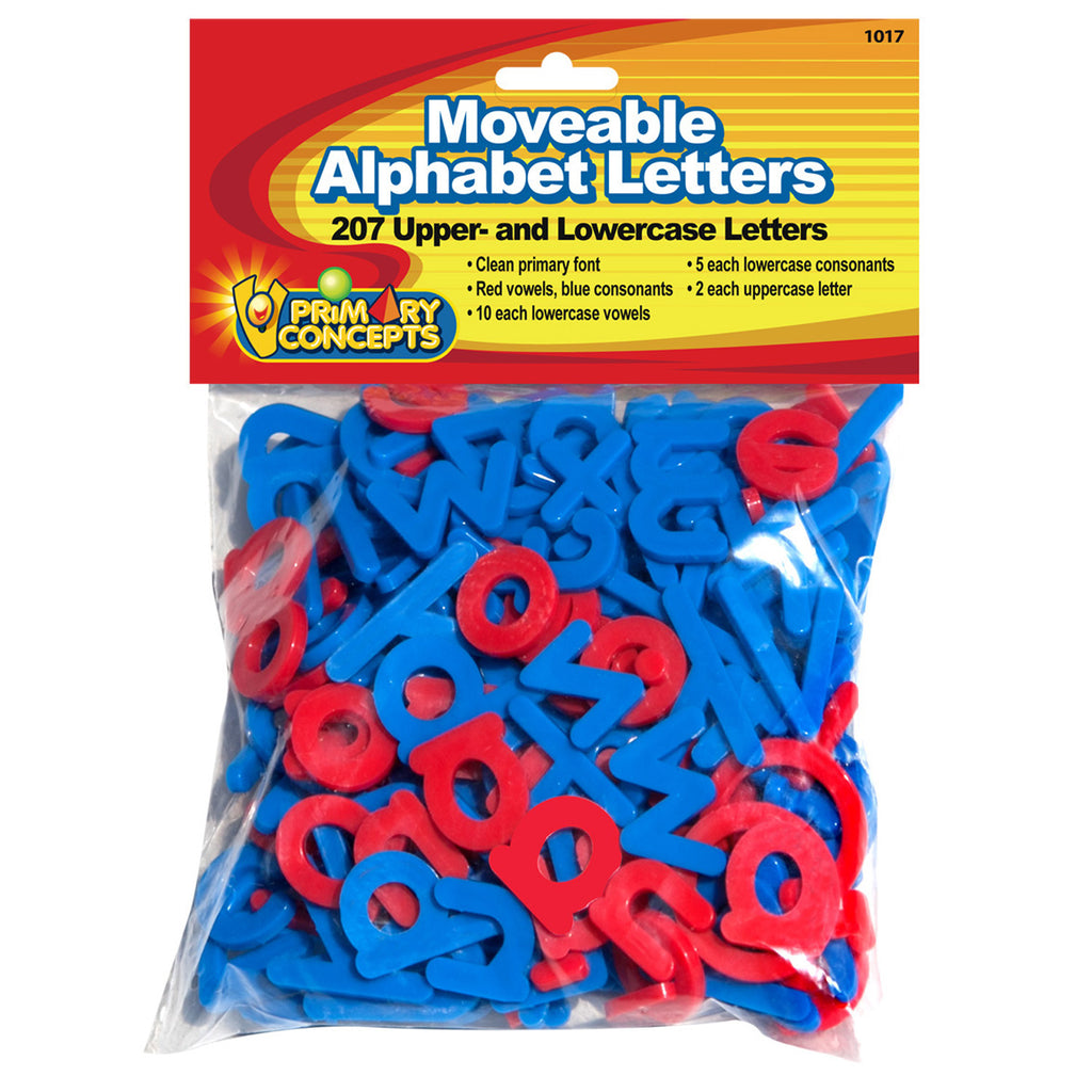 Moveable Alphabet 207 Letters