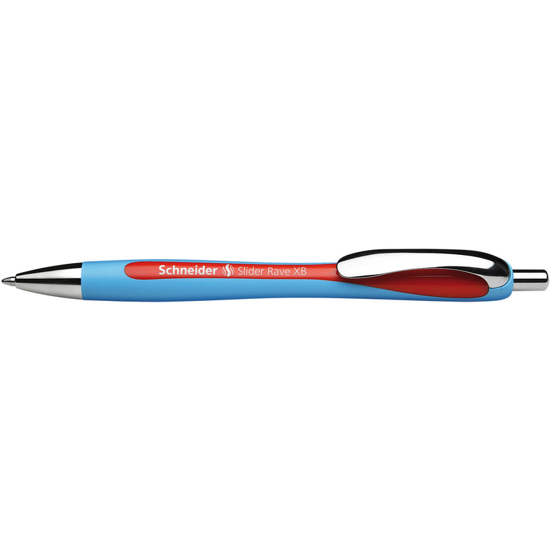 Schneider Red Slider Rave Xb Retractable Ballpoint Pen
