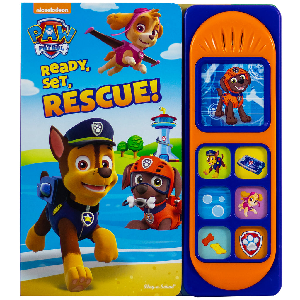 (2 Ea) Paw Patrol Ready Set Rescue Little Sound Book