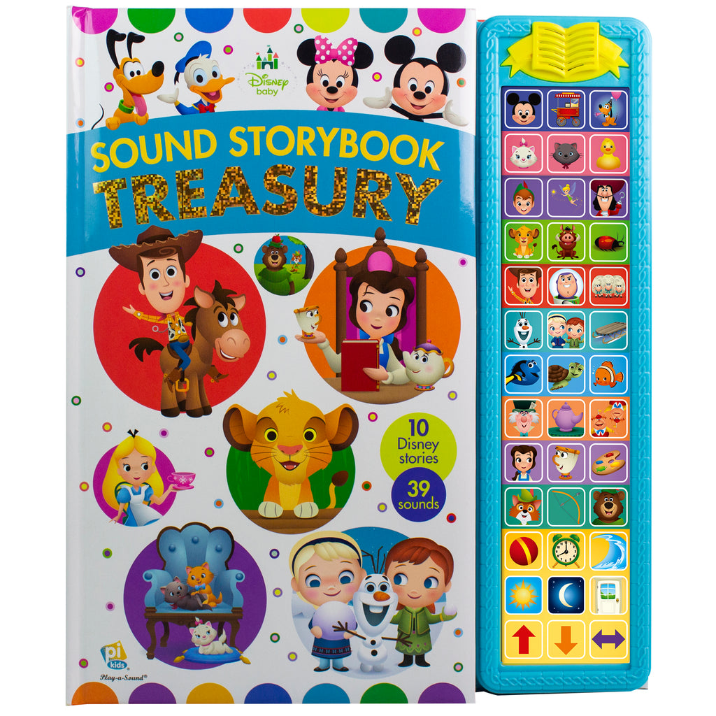 Sound Treasury Disney Baby Storybook