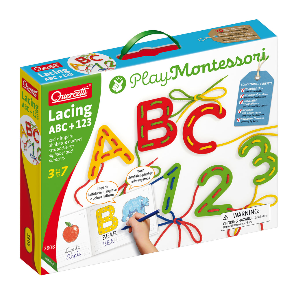 Lacing Abc + 123