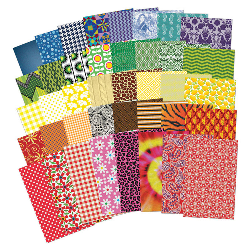 All Kinds Of Fabric Design Papers