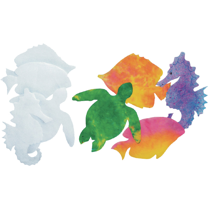 Color Diffusing Sealife