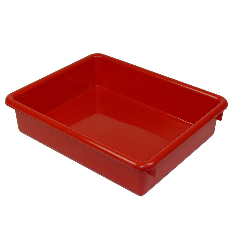 (3 Ea) 3in Red Stowaway Letter Tray