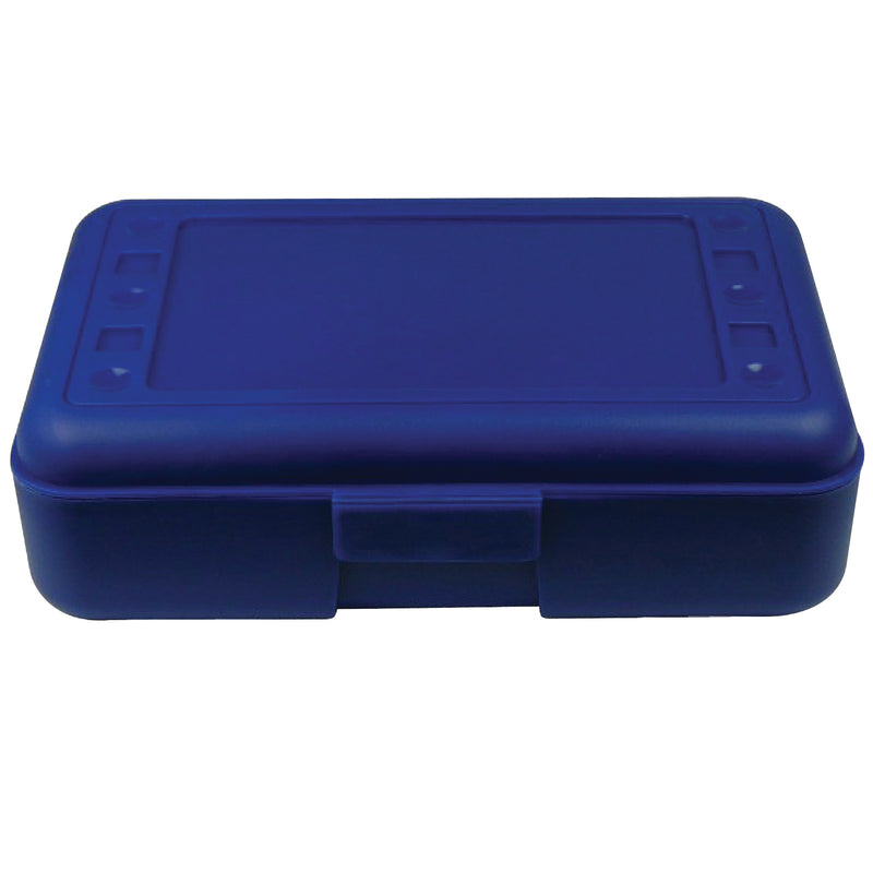 (12 Ea) Pencil Box Blue