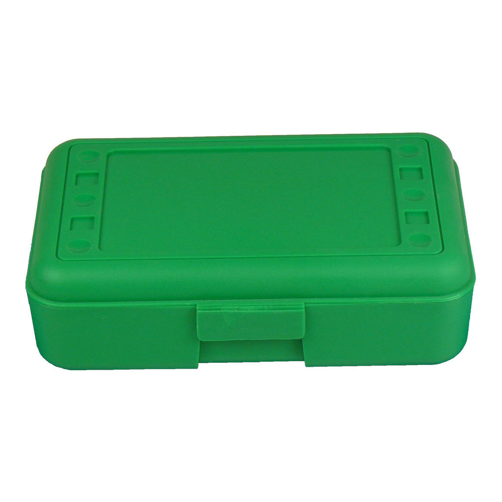 (12 Ea) Pencil Box Green