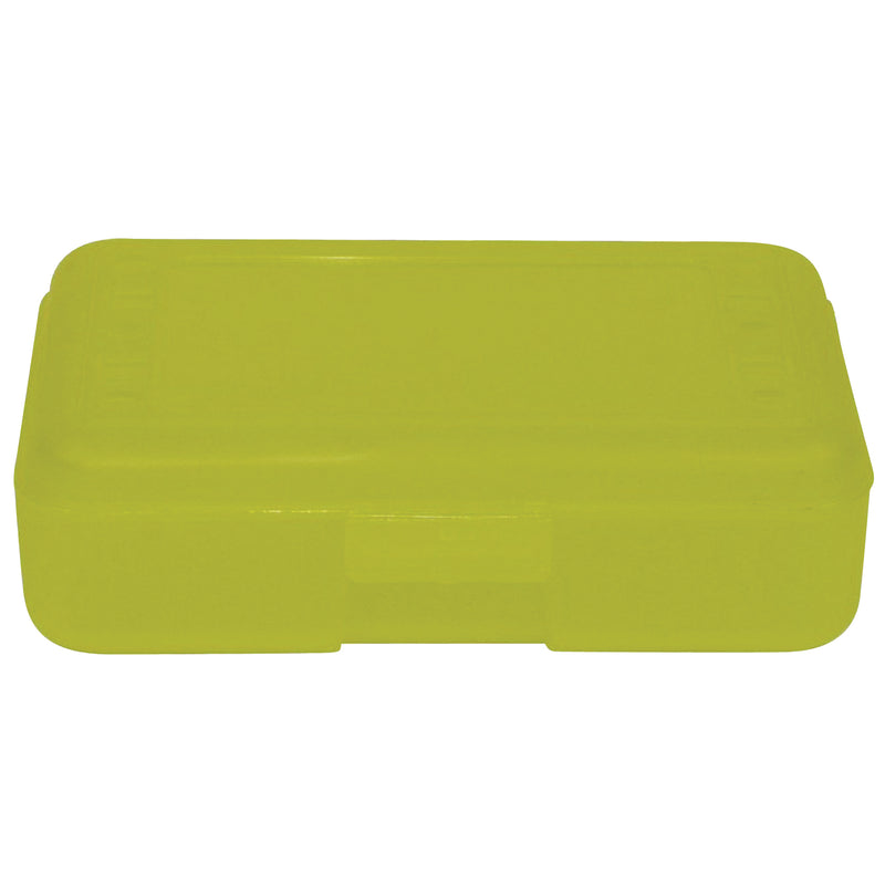 (12 Ea) Pencil Box Lemon