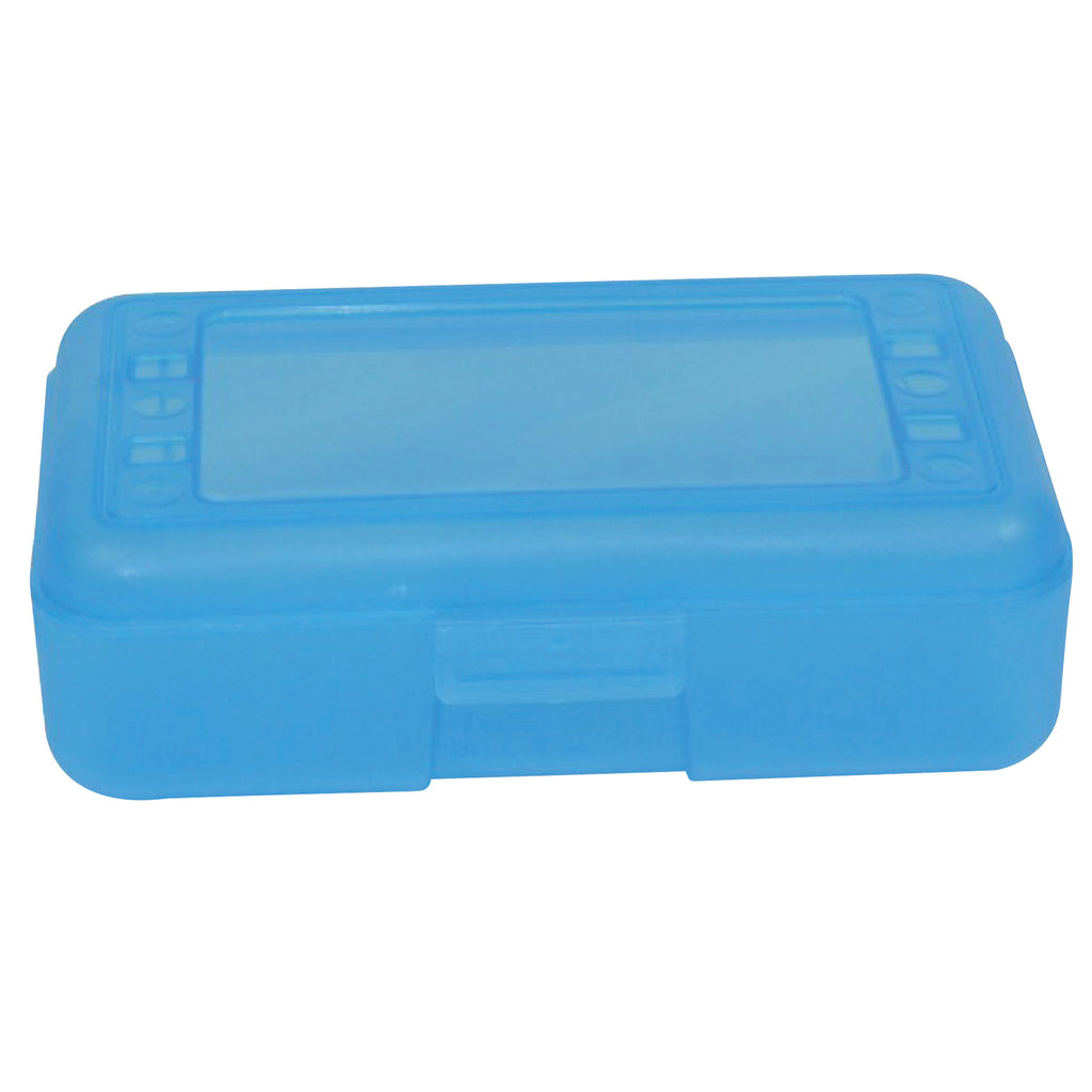 (12 Ea) Pencil Box Blueberry