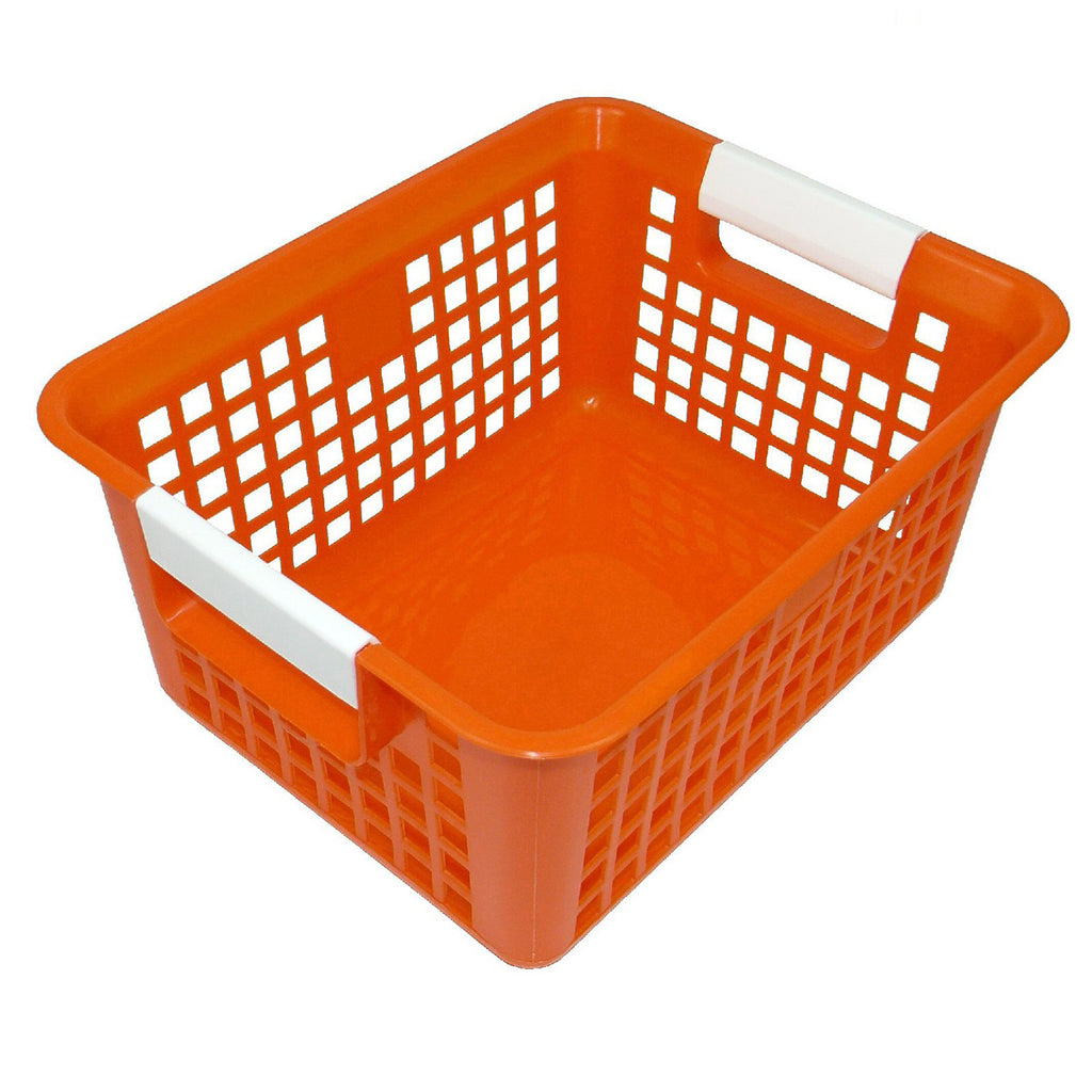 (3 Ea) Orange Book Basket