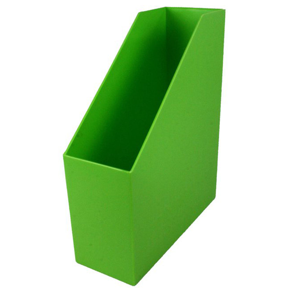 Magazine File Lime Green 9.5x3.5x11.5