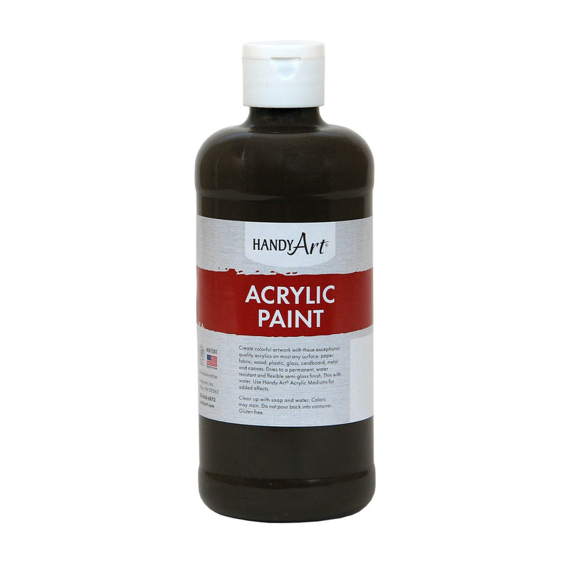 Acrylic Paint 16 Oz Raw Umber