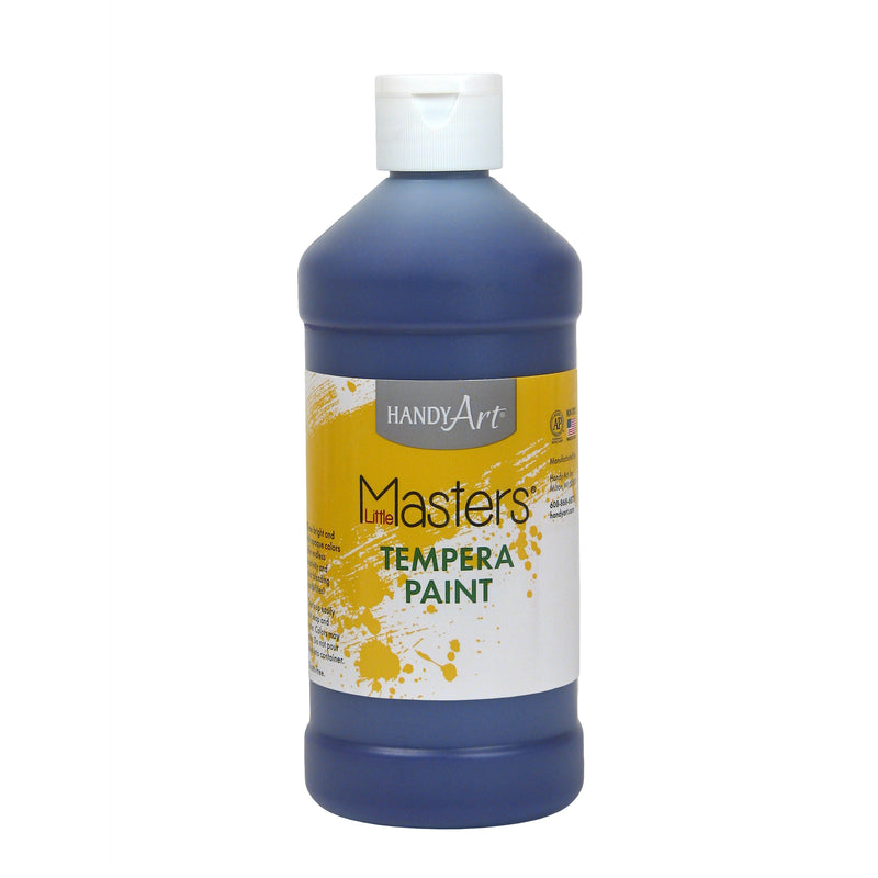 (12 Ea) Little Masters Violet 16oz Tempera Paint