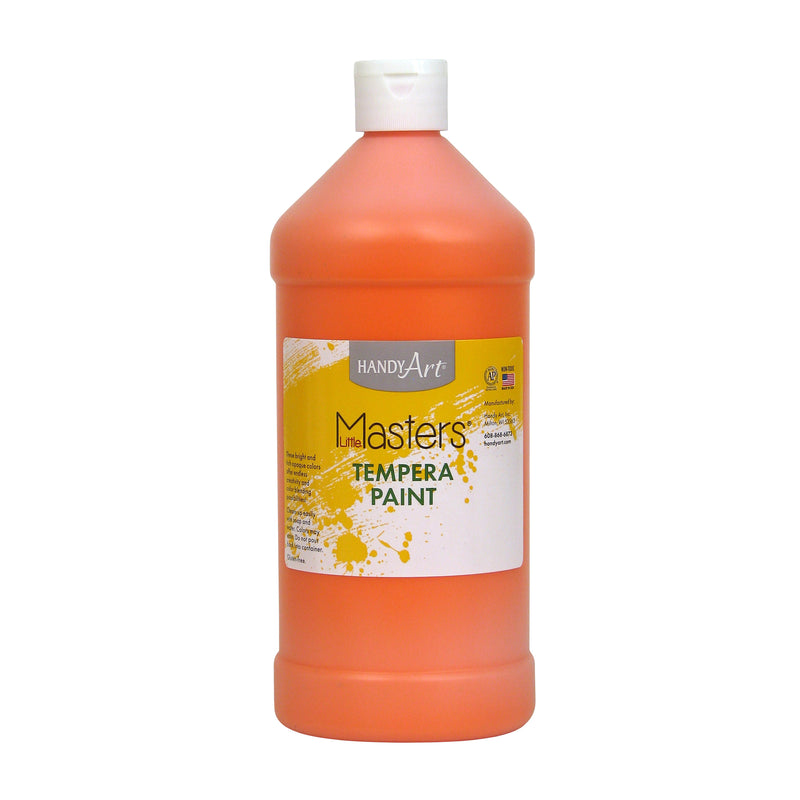 Little Masters Orange 32oz Tempera Paint