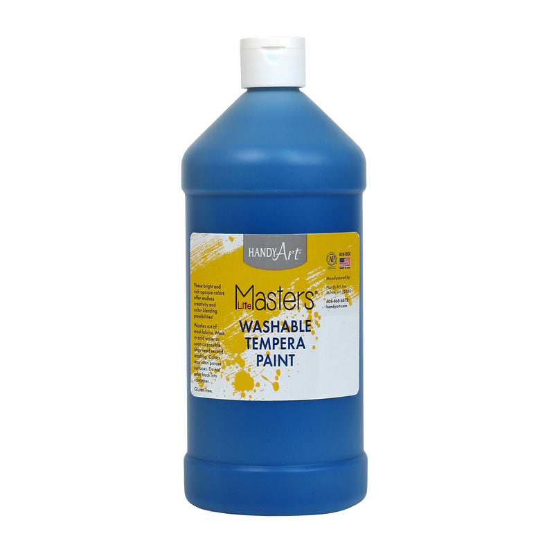 Little Masters Blue 32oz Washable Paint