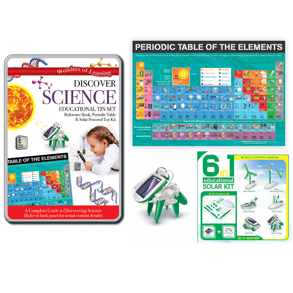 Tin Set Discover Science Wonders Of Learning