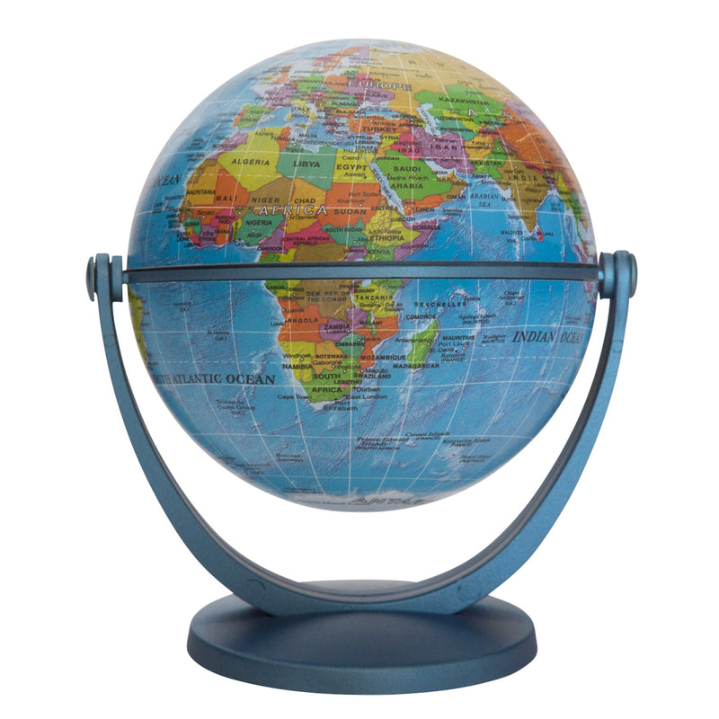 4in Blue Ocean Gyroglobe