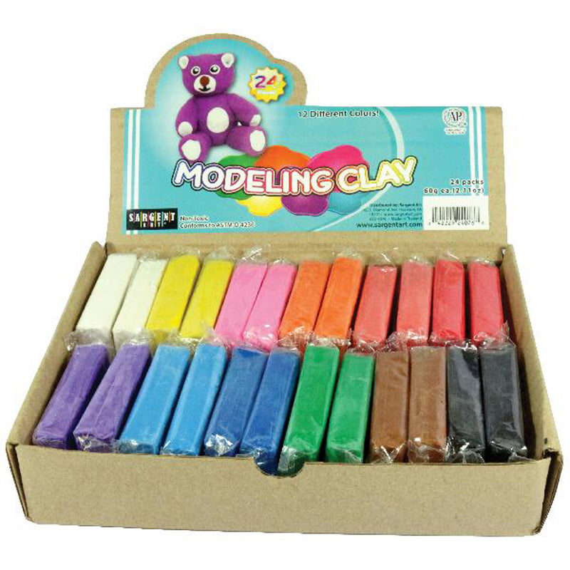 Sargent Art Modeling Clay Classpack