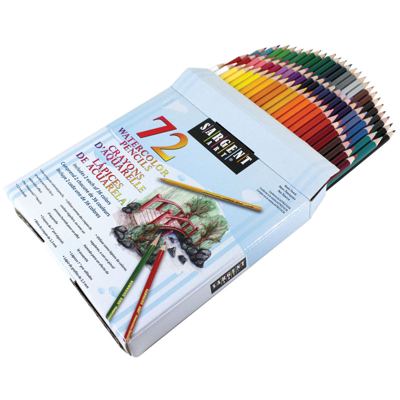 Sargent Art Colored Pencils 72 Colors