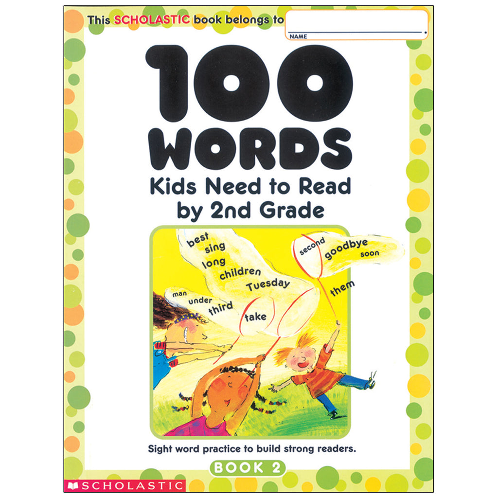 (6 Ea) 100 Words Kids Need To Read By 2nd Grade