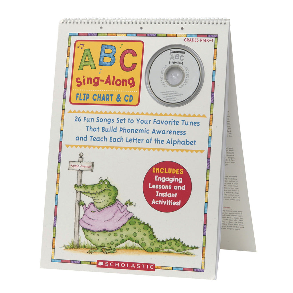 Abc Sing Along Flip Chart & Digital Download