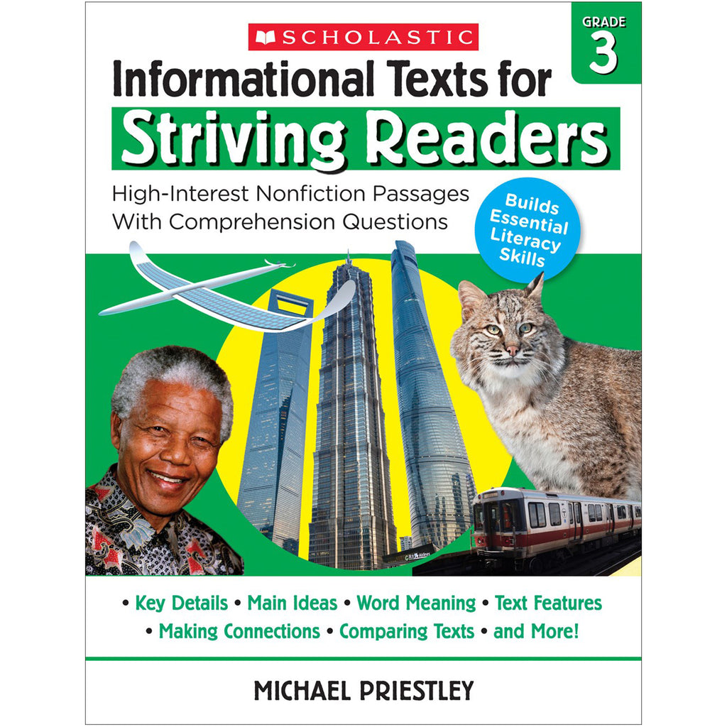Info Texts For Strivng Readers Gr 3