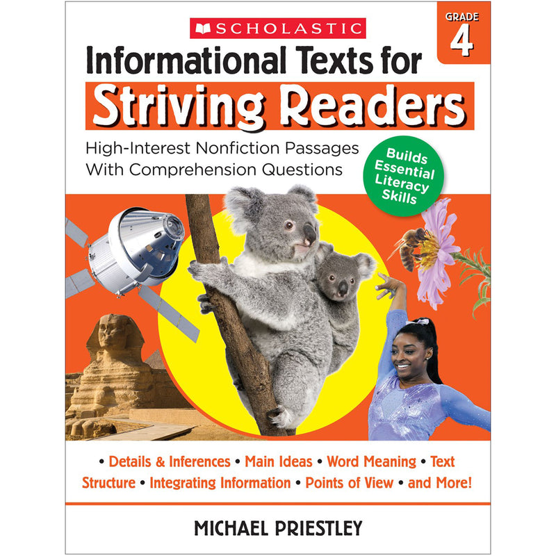 Info Texts For Strivng Readers Gr 4