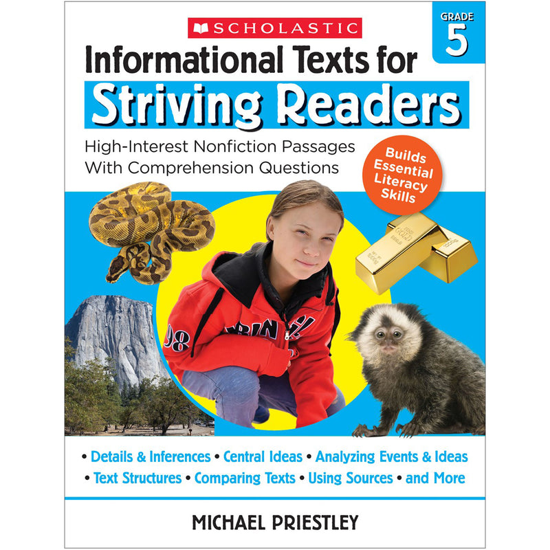 Info Texts For Strivng Readers Gr 5