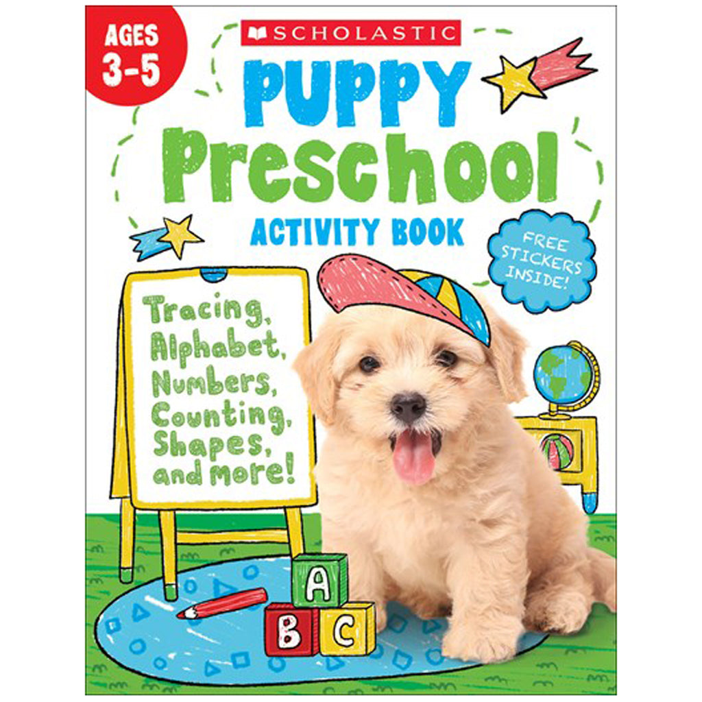 Puppy Preschool Activity Book