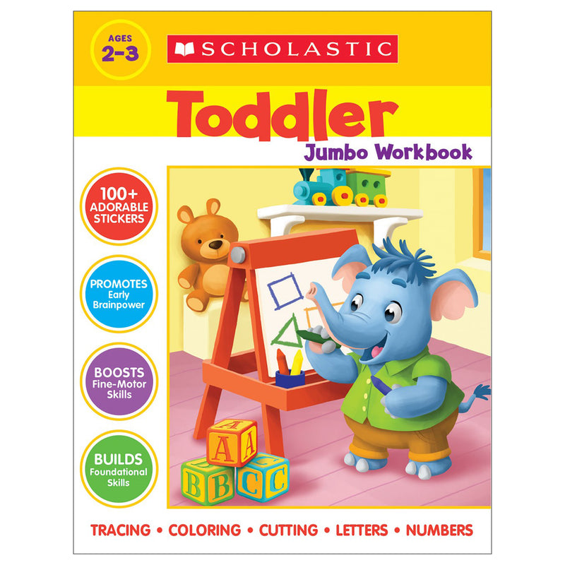 Scholastic Toddler Jumbo Workbook