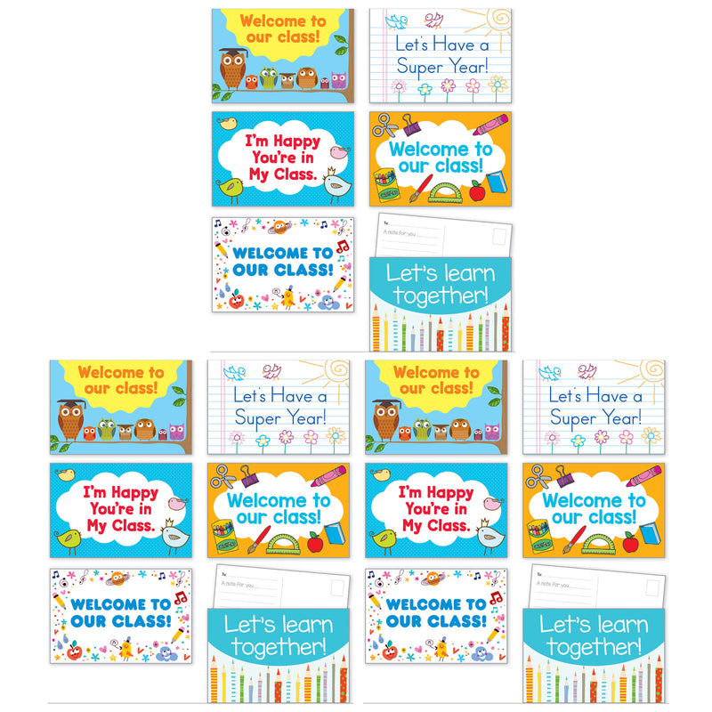 (3 Pk) Back To School Postcards