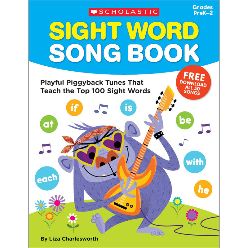 Sight Word Song Book