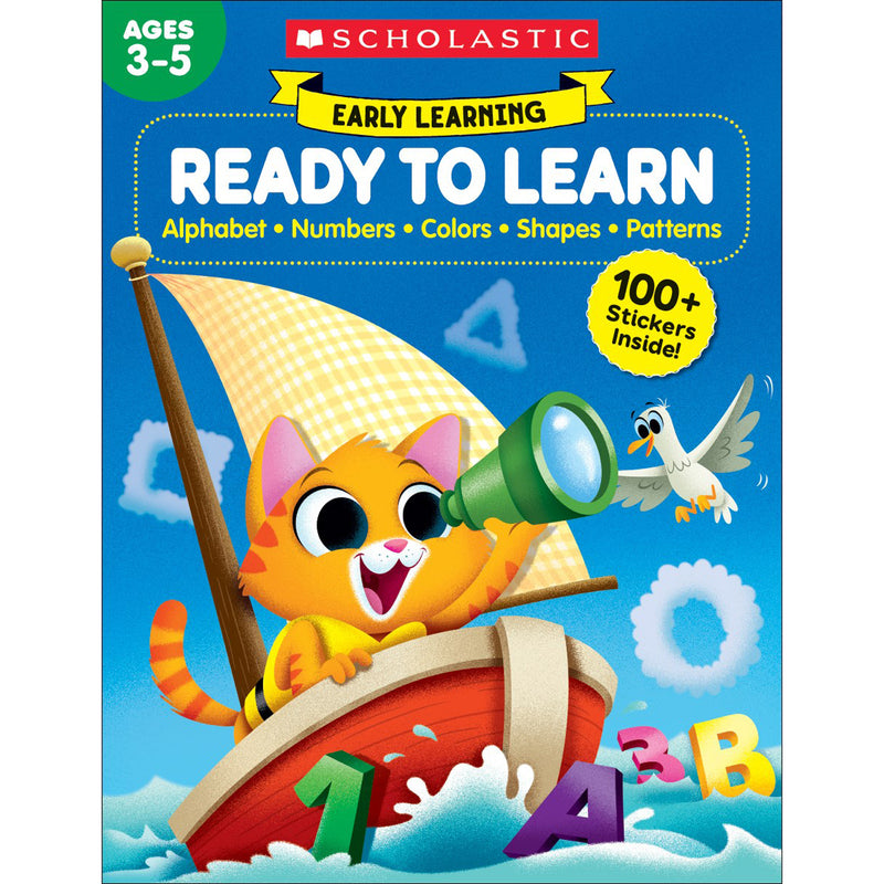 (2 Ea) Early Learning Ready To Learn