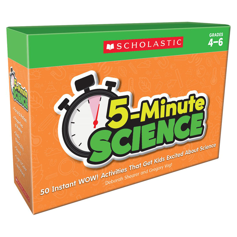 5 Minute Science Grades 4 6