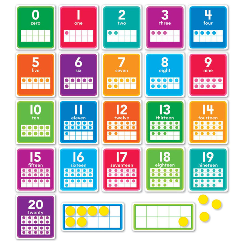 (2 St) 0-20 Numbers Bulletin Board St