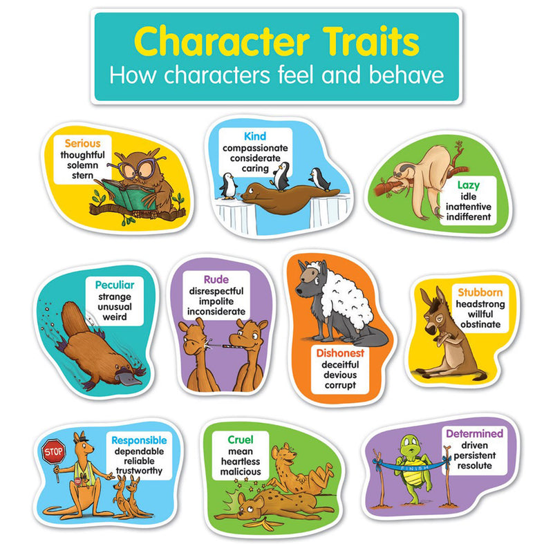 (2 St) Character Traits Bulletin Board St