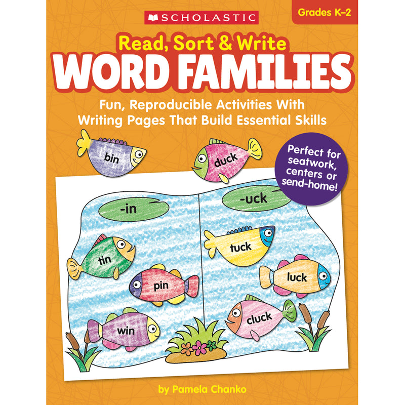 Read Sort & Write Word Families