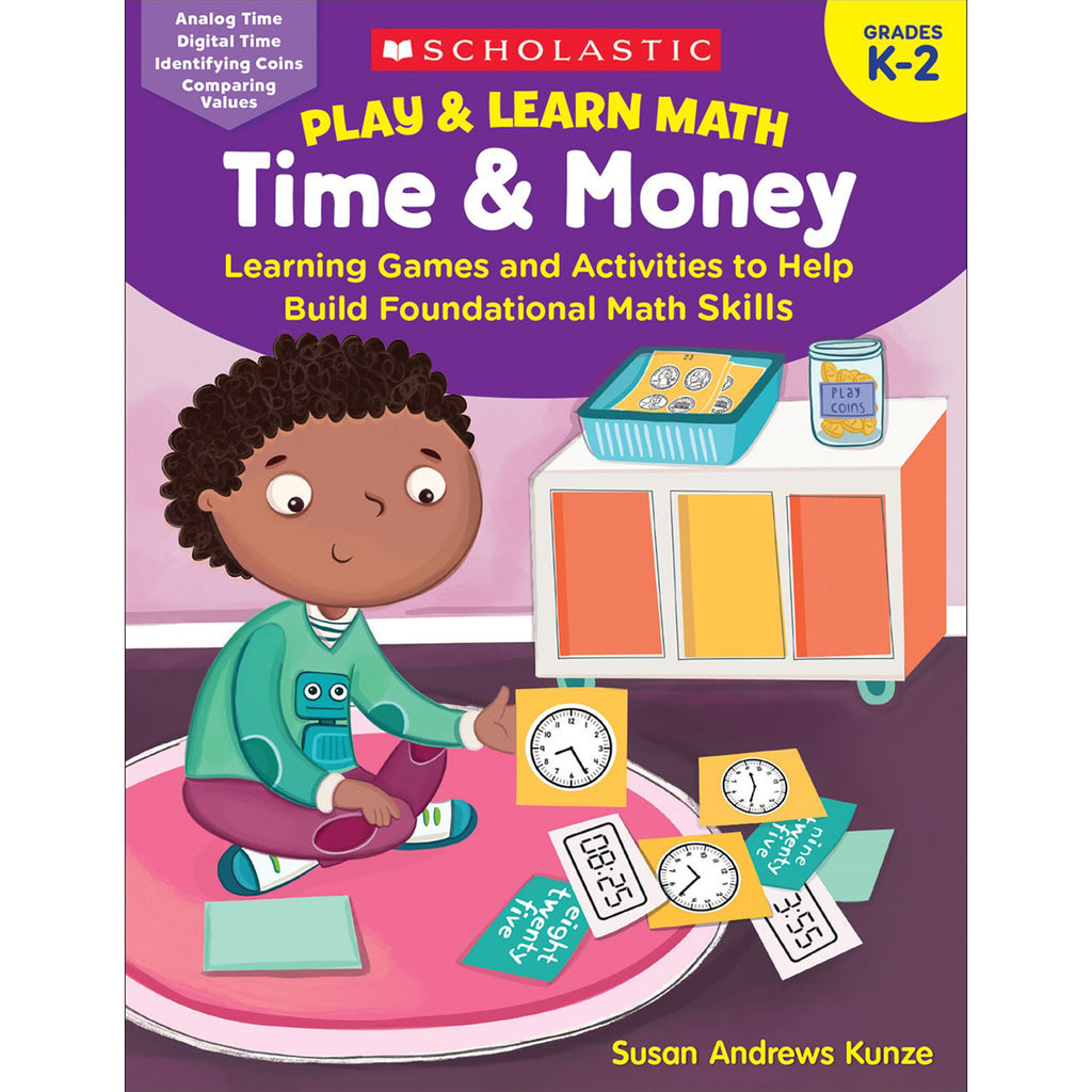 Play & Learn Math Time & Money