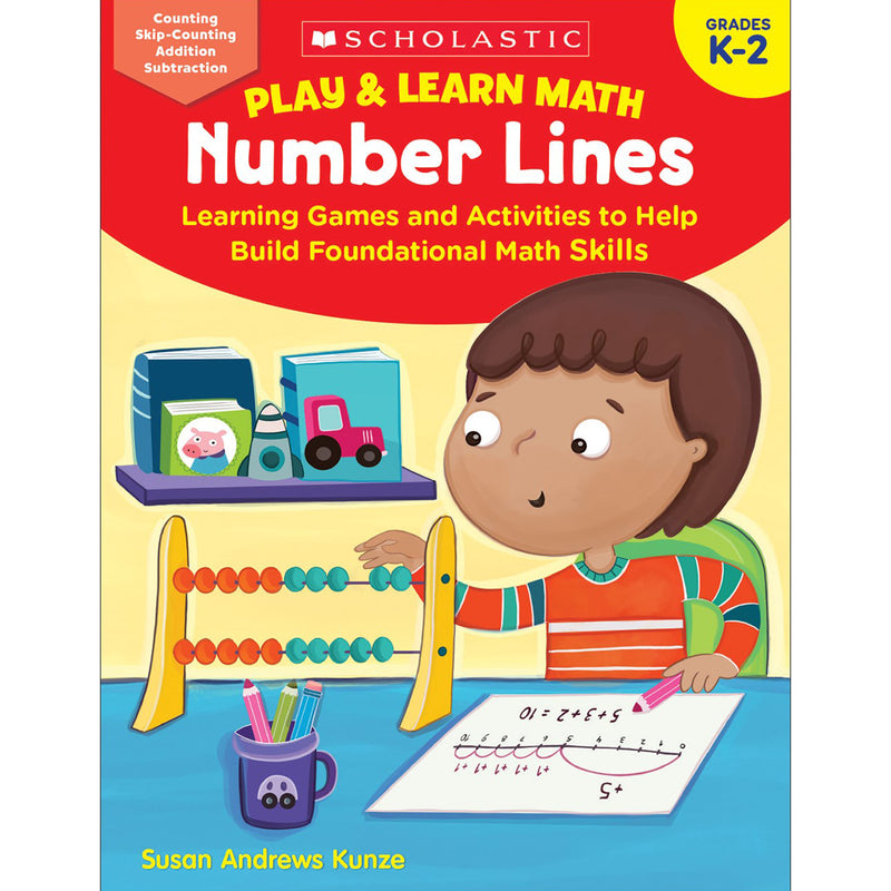 Play & Learn Math Number Lines