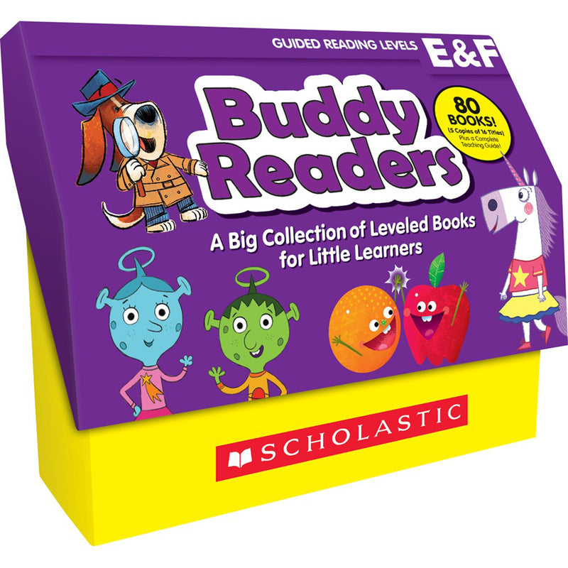 Buddy Readers Class Set Levels E-f