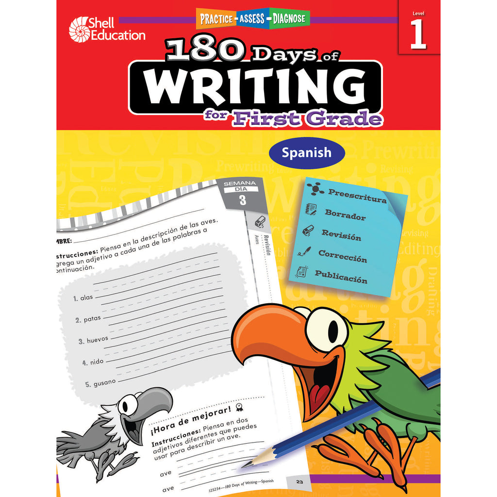 180 Days Of Writing Gr 1 Spanish