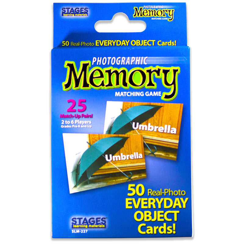 Everyday Objects Photographic Memory Matching Game