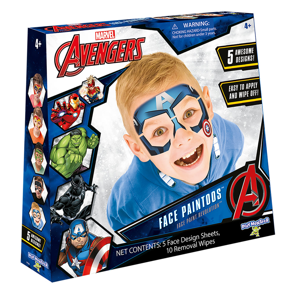 Face Paintoos Marvel Avengers 5pk