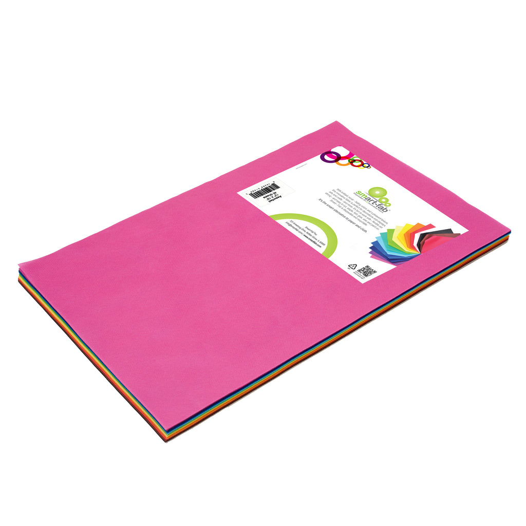 (2 Pk) Smart Fab Cut Sheets 12x18 Assorted