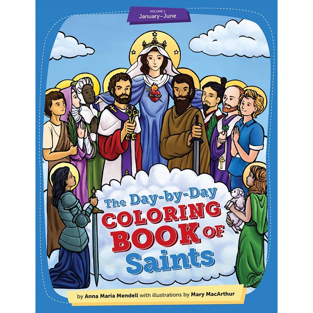 Coloring Book Of Saints Vol 1