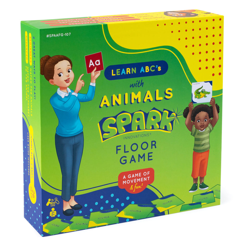 Learn Abcs With Animals Spark Floor Game